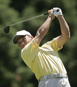 Shigeki Maruyama during the third round of the 2006 Wachovia Championship at the Quail Hollow Club in Charlotte, North Carolina on May 6, 2006. Photo by Chris Condon/PGA TOURPhoto by Chris Condon/PGA TOUR