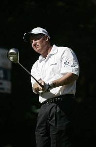 Joe Durant during the third round of the THE TOUR Championship  at East Lake Golf Club in Atlanta, Georgia, on November 4, 2006. PGA TOUR - 2006 THE TOUR Championship Presented by Coca-Cola - Third RoundPhoto by Hunter Martin/WireImage.com