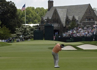 Kenneth Ferrie on the ninth fairway during the second round of the 2006 U.S. Open Golf Championship at Winged Foot Golf Club in Mamaroneck, New York on June 16, 2006.Photo by Marc Feldman/WireImage.com