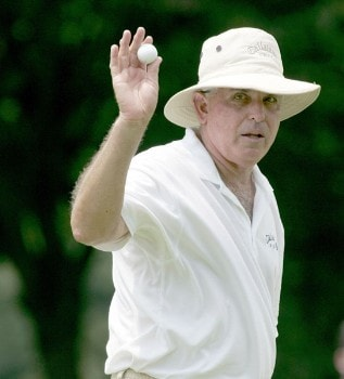 Dave Eichelberger during the first round of the 2005 Commerce Bank Championship at Eisenhower Park in East Meadow, New York on July 1, 2005.Photo by Michael Cohen/WireImage.com
