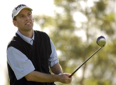 Kevin Sutherland in action during the first round of the Bob Hope Chrysler Classic at The Classic Club in Palm Desert, California on Wednesday,  January 18, 2006.Photo by Marc Feldman/WireImage.com