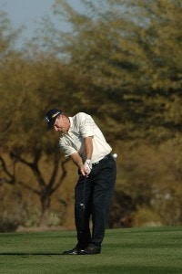 Woody Austin during the third round of the 2007 FBR Open held at the TPC Scottsdale, Scottsdale, Arizona on February 3, 2007. PGA TOUR - 2007 FBR Open - Third Round - February 3, 2007Photo by Marc Feldman/WireImage.com