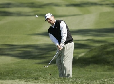 Dudley Hart hitting onto the second green during the third round of THE PLAYERS Championship held at the TPC Stadium Course in Ponte Vedra Beach, Florida on March 25, 2006.Photo by Chris Condon/PGA TOUR/WireImage.com