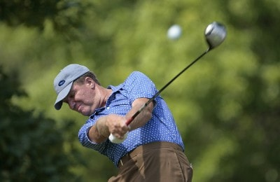 Steve Elkington during the third round of the Buick Open held at Warwick Hills Golf & Country Club in Grand Blanc, Michigan, on June 30, 2007. Photo by: Chris Condon/PGA TOURPhoto by: Chris Condon/PGA TOUR