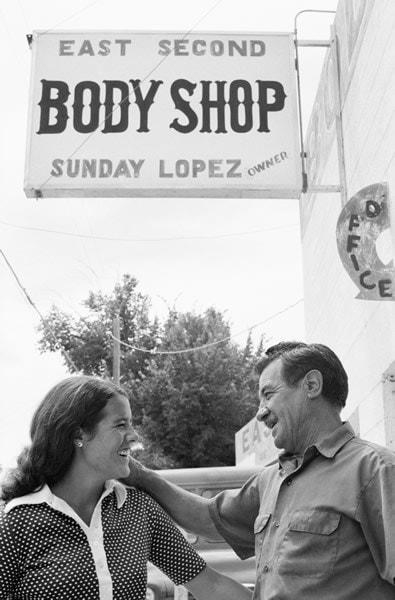 Nancy Lopez and father Domingo