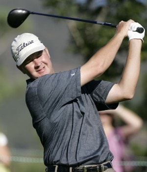 Hunter Haas in action during the first round at the Reno-Tahoe Open,  August 18,2005, held at Montreux GC, Reno, Nevada.Photo by Stan Badz/PGA TOUR/WireImage.com