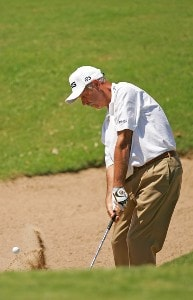 Mark James during the final round of the FedEx Kinko's Classic held at The Hills Country Club in Austin, Texas, Sunday, April 30, 2006. Photo by Sam Greenwood/WireImage.com