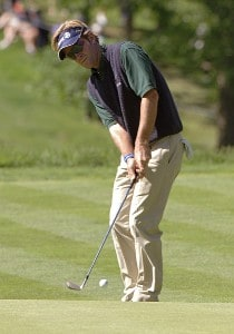 Brett Quigley during the final round of the Barclays Classic held at Westchester Country Club in Rye, New York on June 11, 2006.