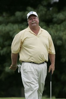 Craig Stadler in action during the third round of the Greater Hickory Classic at Rock Barn on the Jones Course  in Conover, North Carolina on October 9, 2005.Photo by Michael Cohen/WireImage.com