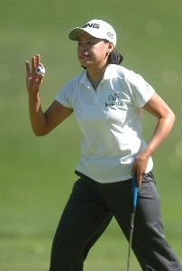 Dorothy Delasin in action during the third round of the 2006 Longs Drug Challenge at Blackhawk Country Club in Danville, California on September 23, 2006. LPGA - 2006 Longs Drug Challenge - Third RoundPhoto by Steve Grayson/WireImage.com