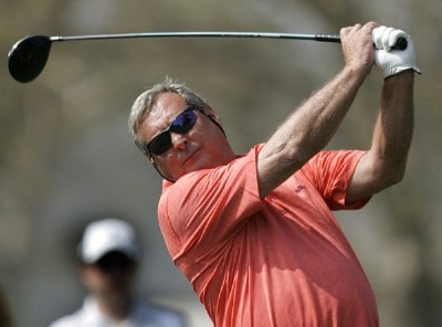 Fuzzy Zoeller in action during the final round of the Champion's Tour 2007 AT&T Champions Classic at the Valencia Country Club in Santa Clarita, California on March 18, 2007. Champions Tour - 2007 AT&T Champions Classic - Final RoundPhoto by Steve Grayson/WireImage.com