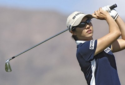 Aree Song on the 8th hole during the third round of the 2006 Safeway International, Saturday, March 18, 2006 at  Superstition Mountain Golf and Country Club in Superstition Mountain, ArizonaPhoto by Marc Feldman/WireImage.com