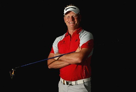KUALA LUMPUR, MALAYSIA - MARCH 05:  Peter Hedblom of Sweden poses for a photograph during practice for the Maybank Malaysian Open held at the Kota Permai Golf & Country Club on March 5, 2008 in Kuala Lumpur, Malaysia.  (Photo by Andrew Redington/Getty Images)