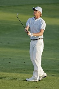 Webb Simpson (a) in action during the first round of the Bay Hill Invitational presented by MasterCard at the Bay Hill Club in Orlando, Florida on March 16, 2006.Photo by Michael Cohen/WireImage.com