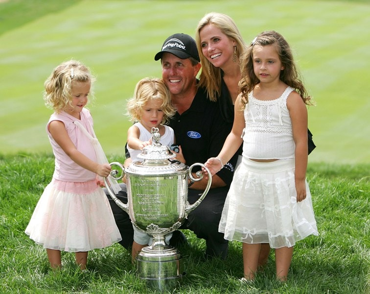 Phil Mickelson at the 2005 PGA Championship