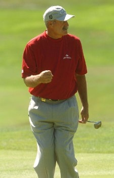 R.W. Eaks in action during the second round of the 2005 Boeing Greater Seattle Classic at TPC at Snoqualmie Ridge in Snoqualmie, Washington August 20, 2005.Photo by Steve Grayson/WireImage.com
