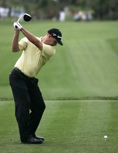 Cliff Kresge during the first round of the Honda Classic on the Champion Course at PGA National in Palm Beach Gardens, Florida on Thursday, March 1, 2007. PGA TOUR - The 2007 Honda Classic - First RoundPhoto by Sam Greenwood/WireImage.com