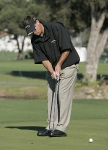 Brandt Jobe during the first round of the 2006 Accenture Match Play Championship at the La Costa Resort & Spa in Carlsbad, California on February 22, 2006.Photo by Stan Badz/PGA TOUR/WireImage.com