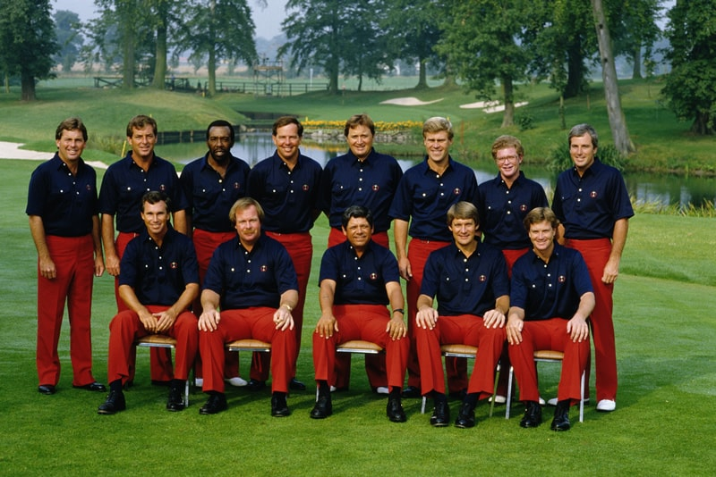 1985 U.S. Ryder Cup team