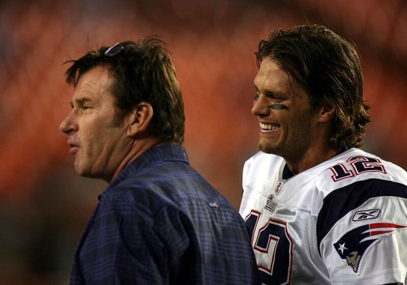 Nick Faldo and Tom Brady