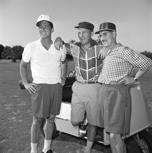 Dean Martin, Bing Crosby and Groucho Marx