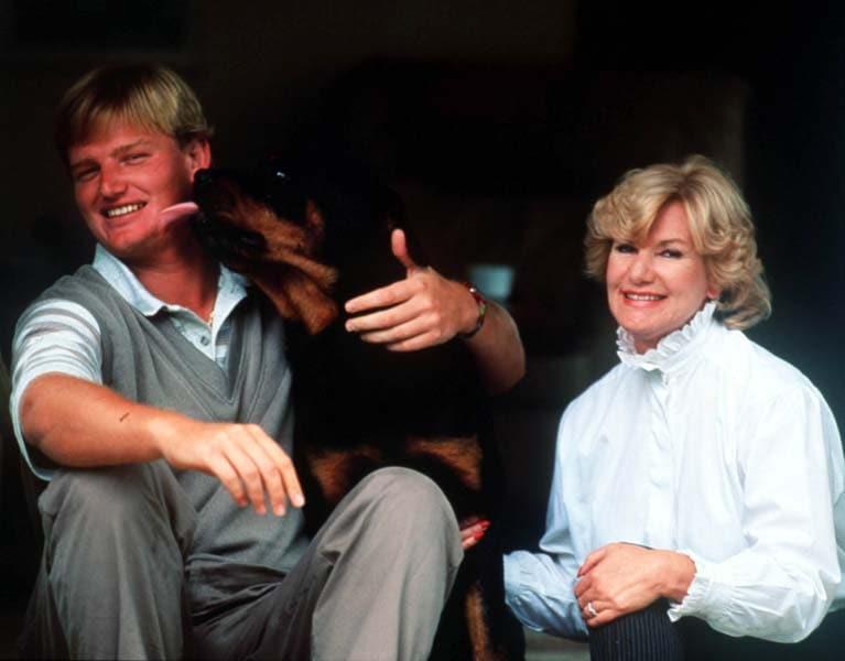 Ernie and Hettie Els