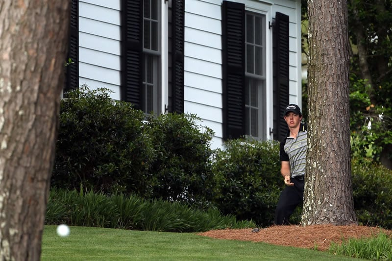 Rory McIlroy, 2011 Masters