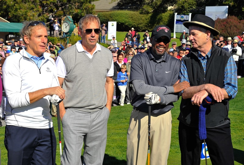 Michael Bolton, Kevin Costner, Darius Rucker and Bill Murray