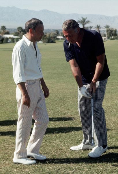 Frank Sinatra and Gary Morton
