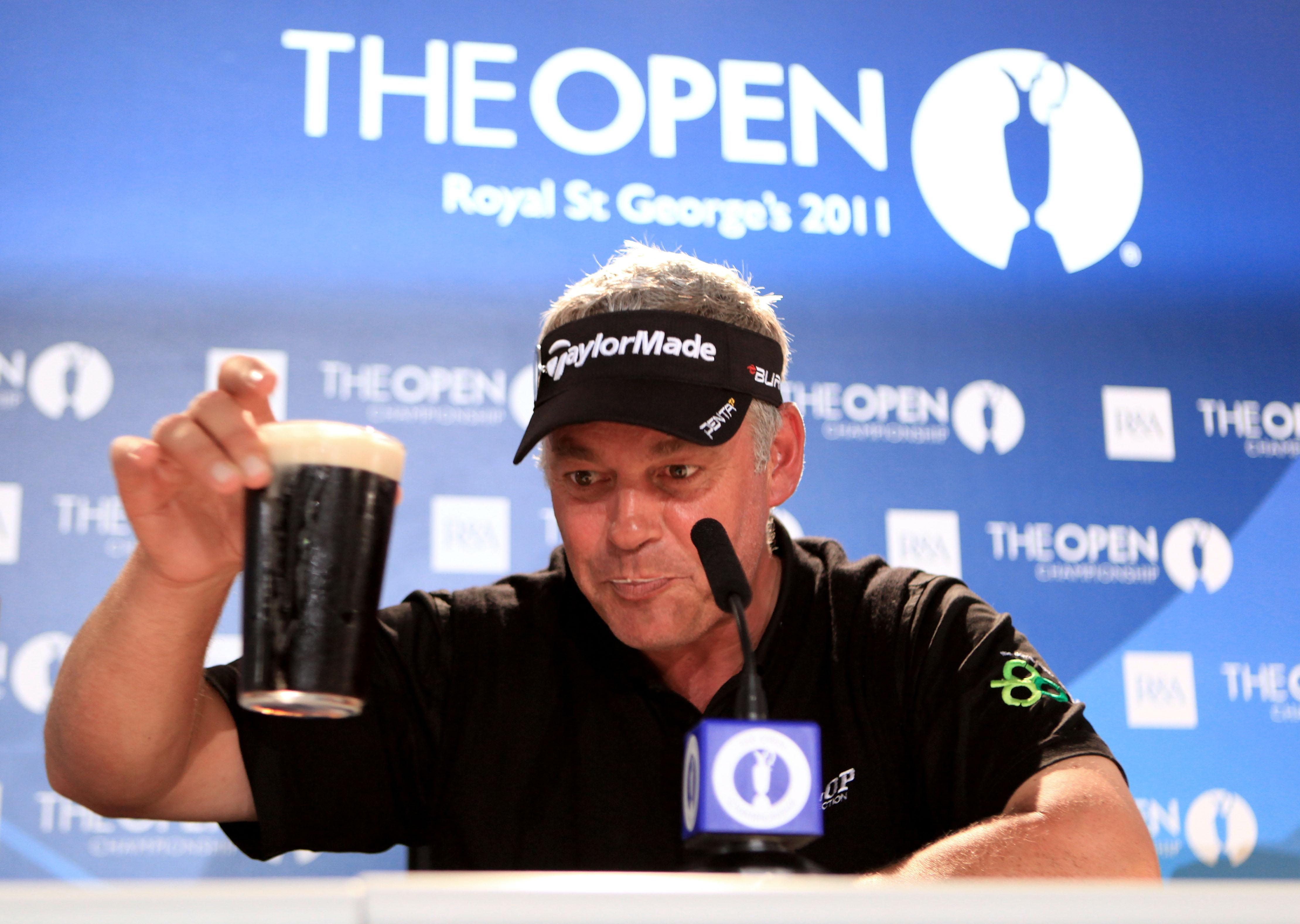 Darren Clarke after winning the 2011 British Open