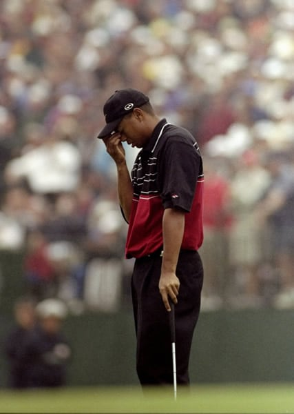 Final round: Tiger Woods