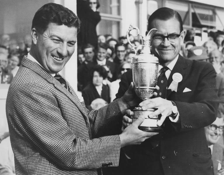1. Peter Thomson, 1965 Open Championship.