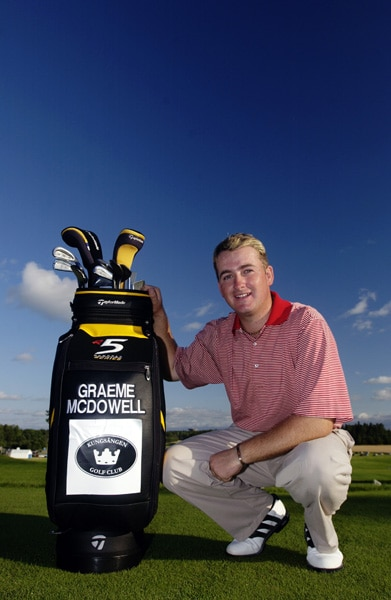 Graeme McDowell at the 2002 Scandinavian Masters
