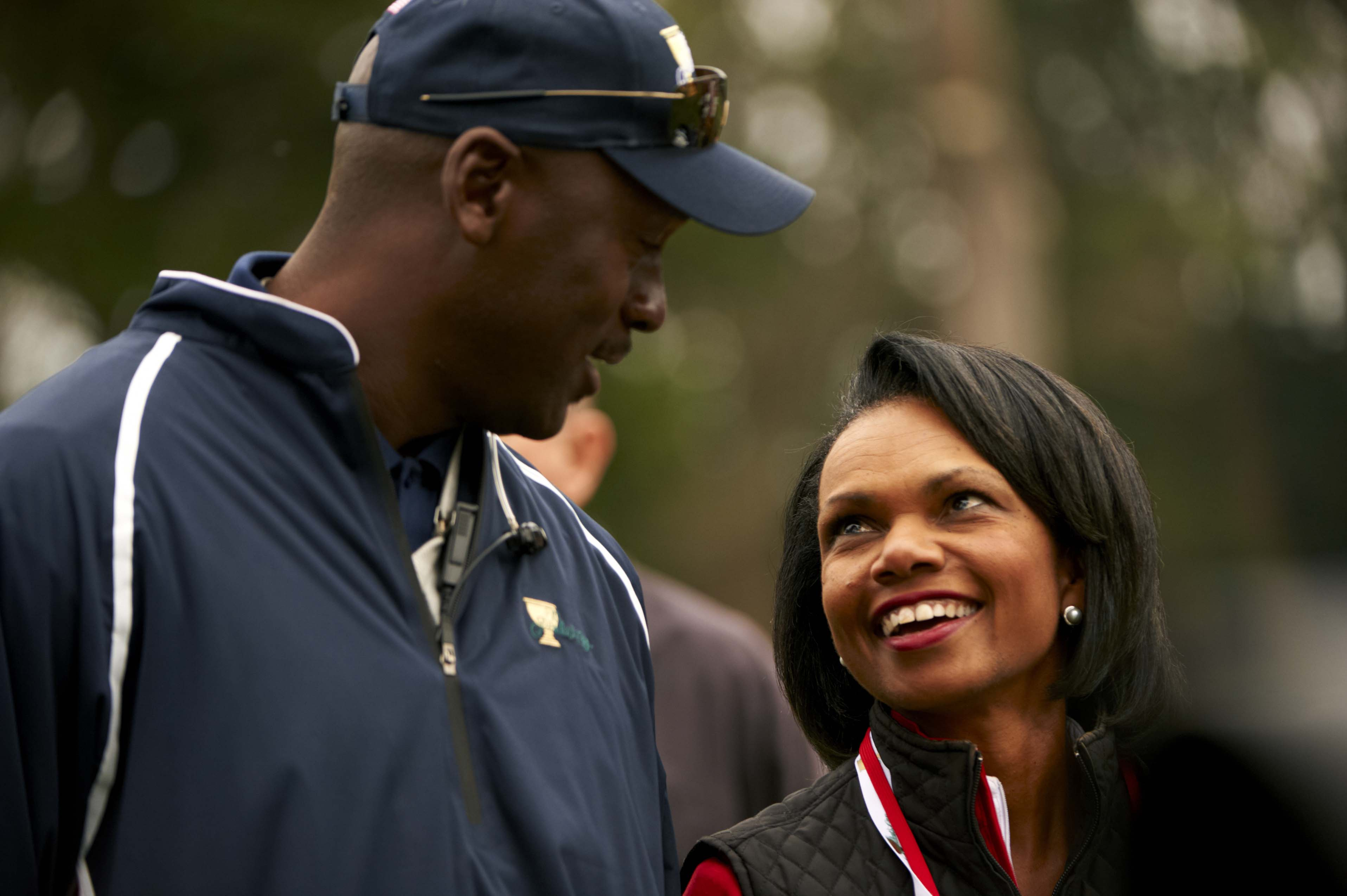 Michael Jordan and Condoleezza Rice