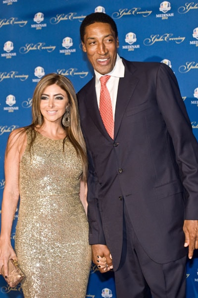 Scottie and Larsa Pippin
