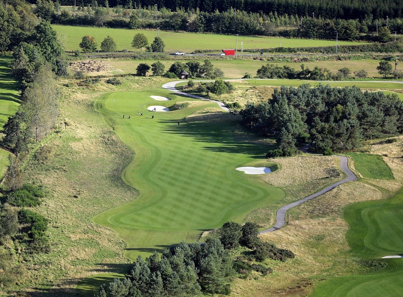 The PGA Centenary Course at Gleneagles - No. 15
