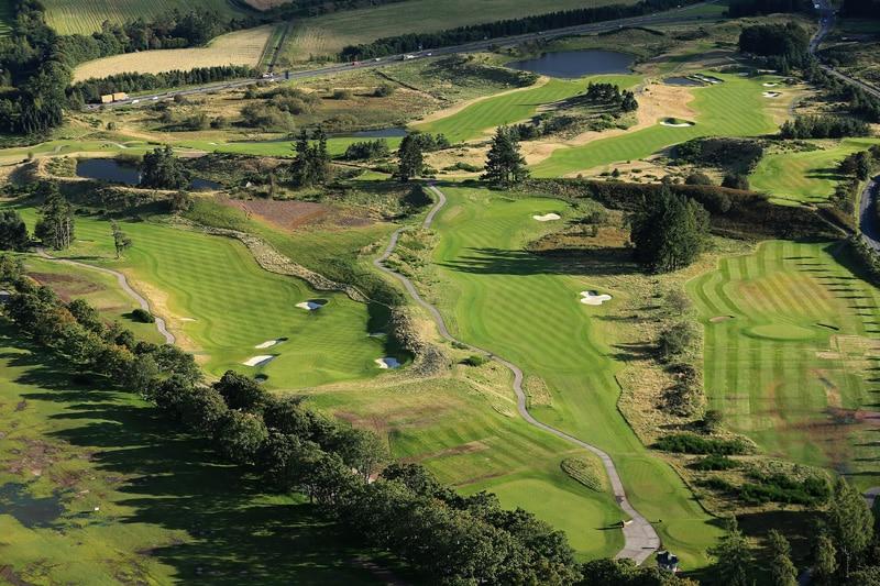 The PGA Centenary Course at Gleneagles - Nos. 1 and 18