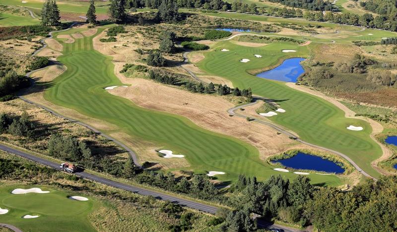 The PGA Centenary Course at Gleneagles - Nos. 2 and 9