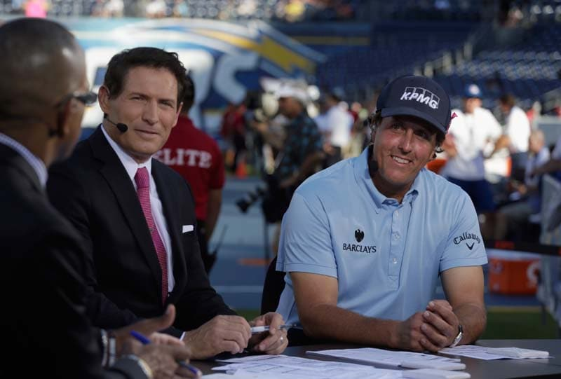 Phil Mickelson and Steve Young