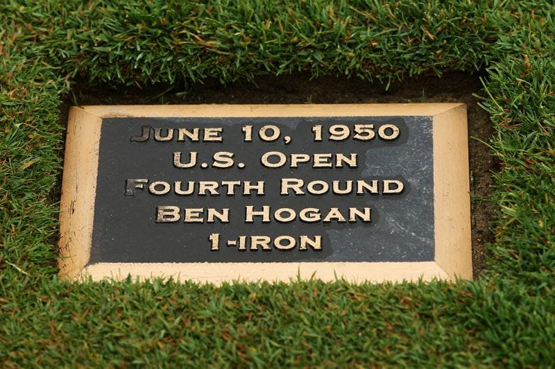 Hogan plaque at Merion