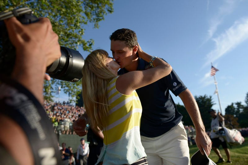 Kate and Justin Rose