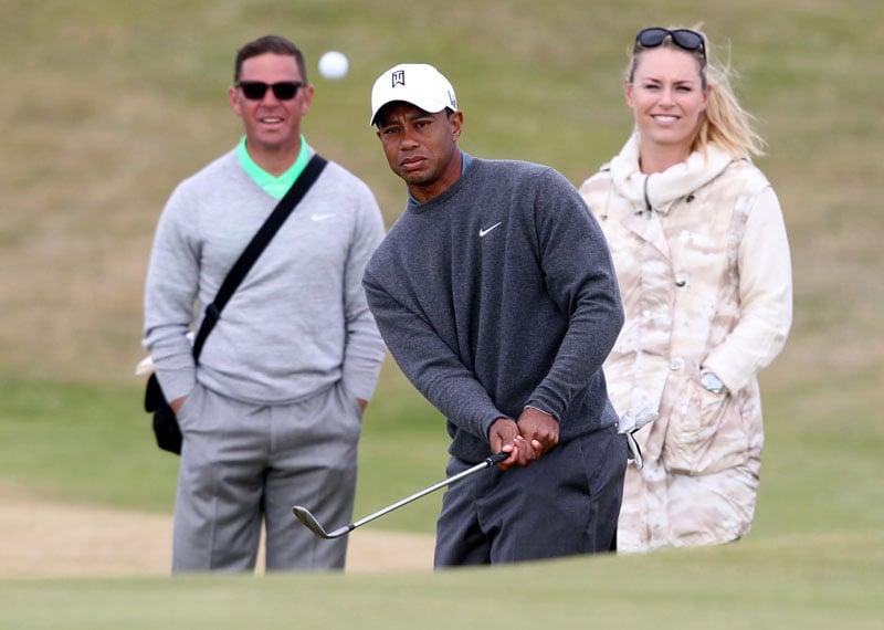 Sean Foley, Tiger Woods and Lindsey Vonn