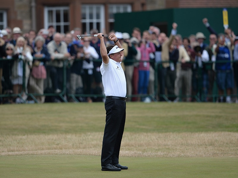 1. Birdie at 18 to win Open Championship