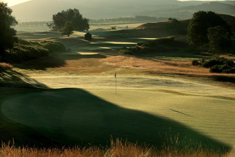 The PGA Centenary Course at Gleneagles - No. 4