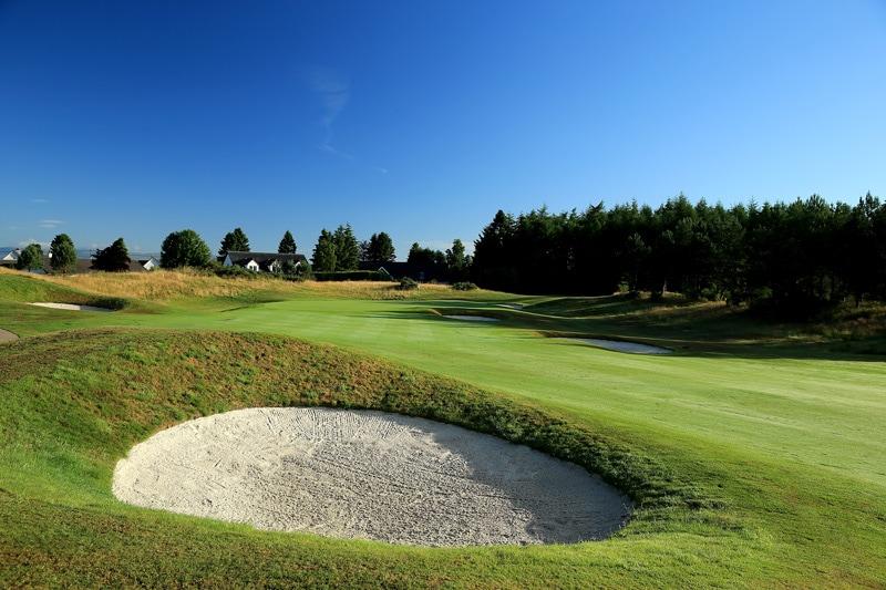 The PGA Centenary Course at Gleneagles - No. 14
