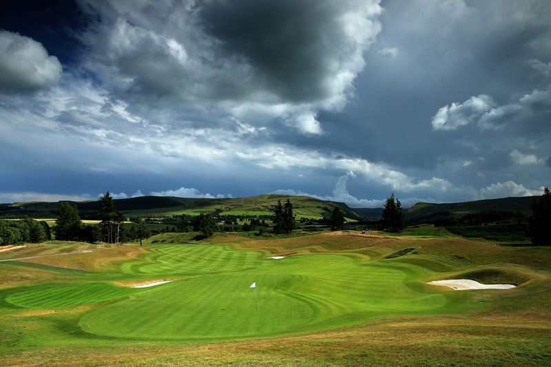 The PGA Centenary Course at Gleneagles - No. 18