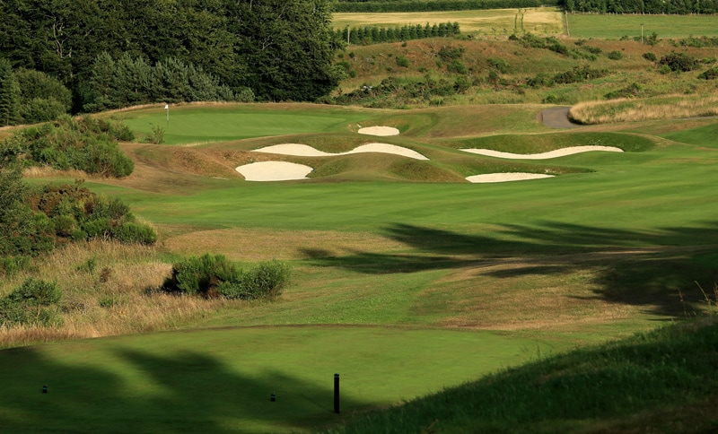 The PGA Centenary Course at Gleneagles - No. 8
