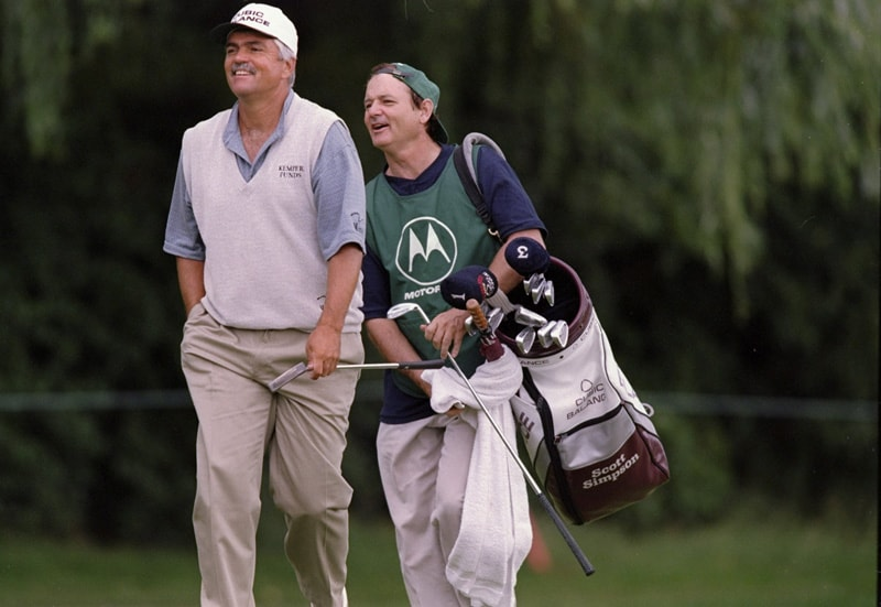 Scott Simpson and Bill Murray