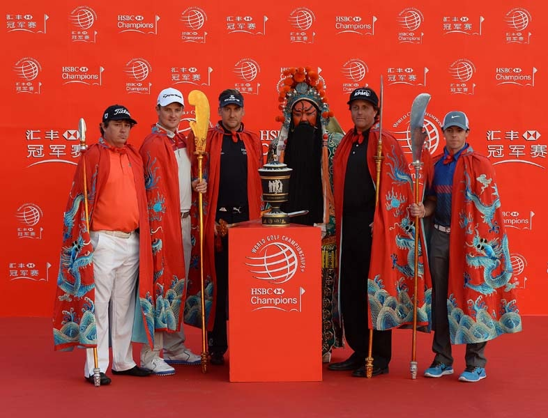 Jason Dufner, Justin Rose, Ian Poulter, Phil Mickelson, Rory McIlroy