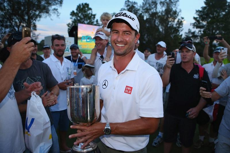 Adam Scott, 2013 Australian PGA